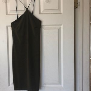 Petite Halterneck Mini Dress (NEW)